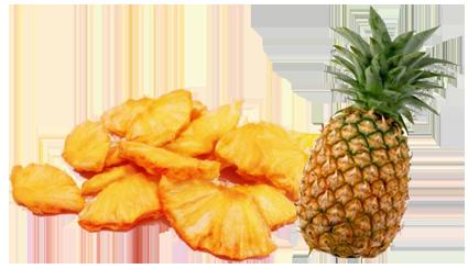 keripik buah nanas, keripik nanas