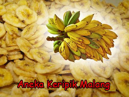 kripik pisang raja