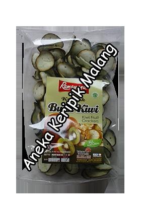 kerupuk buah kiwi