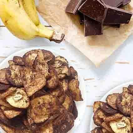 membuat keripik pisang coklat