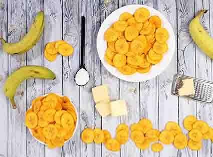 cara membuat keripik pisang keju